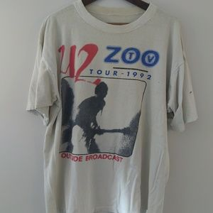 RARE Vintage U2 1992 Tour t-shirt ZOO XL